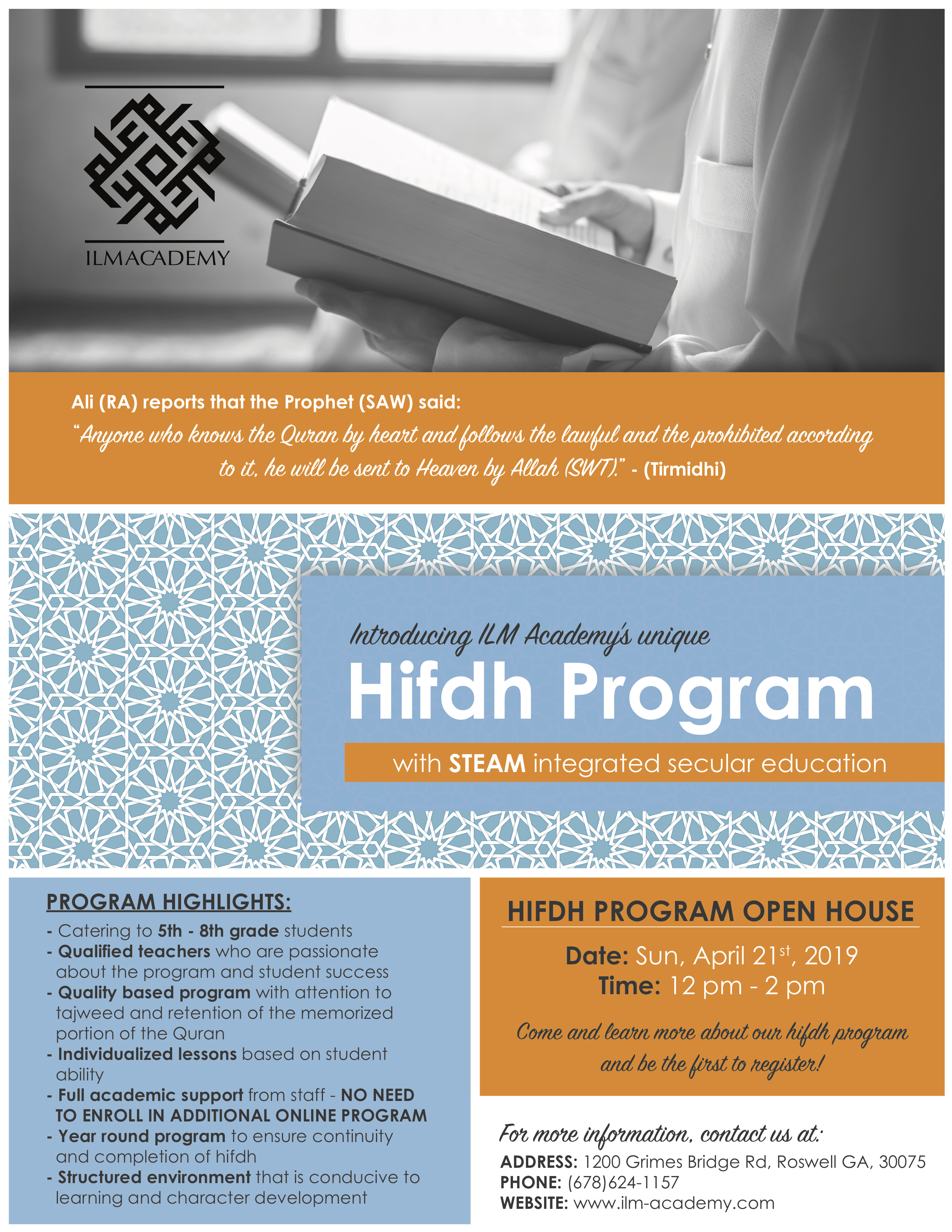 ILM Academy Hifdh Program