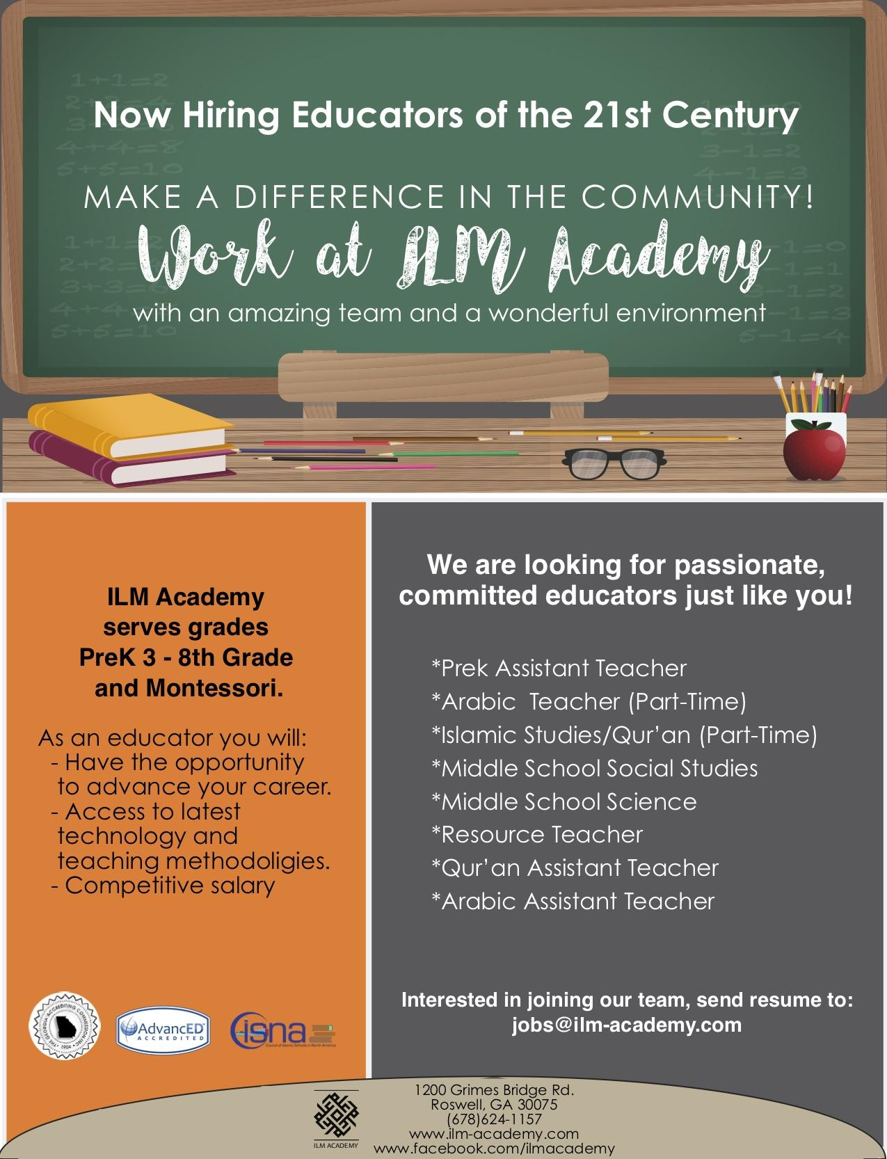 Job Openings - Discover - ILM Academy